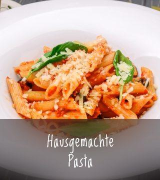 Haugemachte Pasta - Restaurant Pizzeria Vecchia Stazione Escheburg